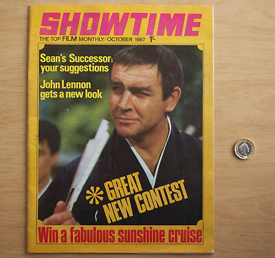 054 Showtime You Only Live Twice Magazine October 1967 Sean Connery
