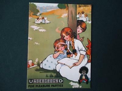 """"""" Underground """" Pleasure Parties """" Kids In The Countryside """" London Transport"""