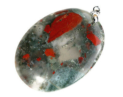 Afrika-Blood Stone, 84,1ct.,Natural,Anhänger
