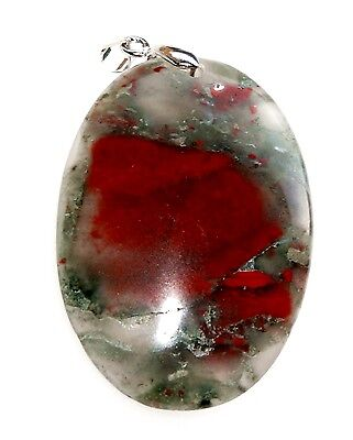 Afrika-Blood Stone, 79,3ct.,Natural,Anhänger