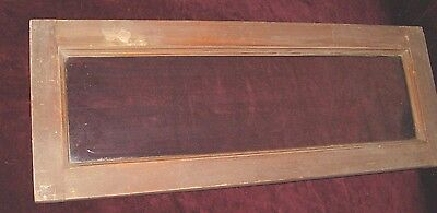 *vintage Architectural Over-The-Door Transom Window With Original Glass
