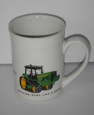 JOHN DEERE RARE Tractor Design Nothing Runs like a Deer Coffee Cup Mug GIBSON