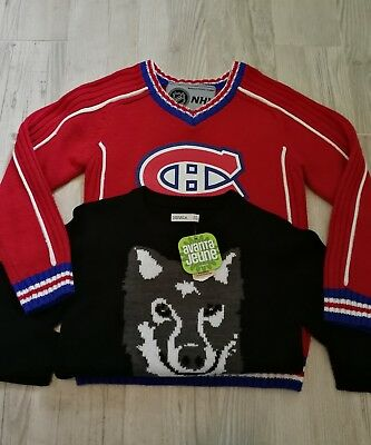 Montreal Canadiens Hockey Sweater NHL Official New Nevada Size 8 Small (B3)