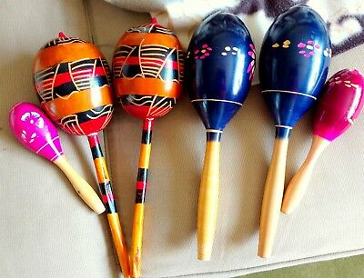 Set of mexican maracas
