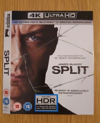 Replacement Slipcover For Split 4K Uhd Blu-Ray **card Sleeve Only**