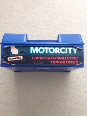 Matchbox Carry Case Complete With 24 Toys