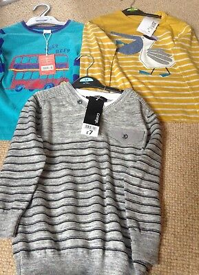 T-shirts And Jumper Aged 4-5 Years