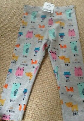 Girls Leggings Aged 12-18 Months