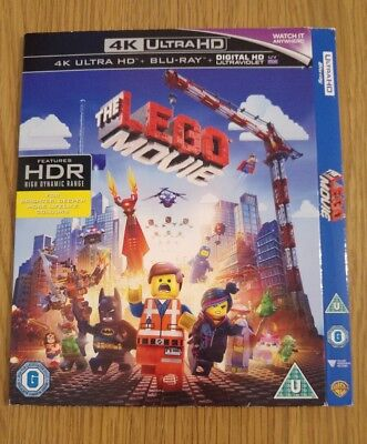 Replacement Slipcover For The Lego Movie 4K Blu-Ray **card Sleeve Only**