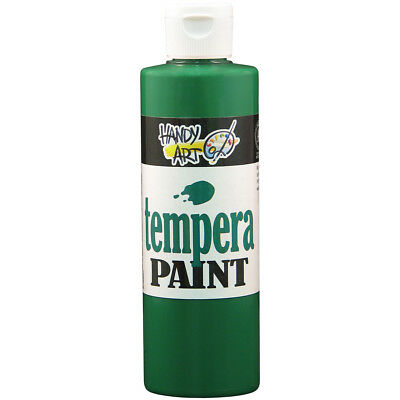 Handy Art Tempera Paint 8oz Green 206-045