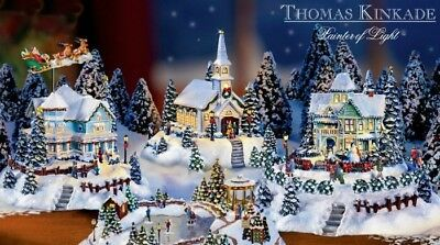 Thomas Kinkade 5 piece set