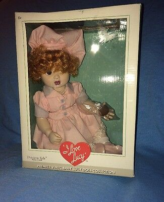 Precious Kids Premier Vinyl Baby Doll--I Love Lucy--Chocolate Factory