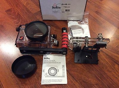 VGC Scuba Diving Ikelite Underwater Housing for Cannon PowerShot G11 and G12
