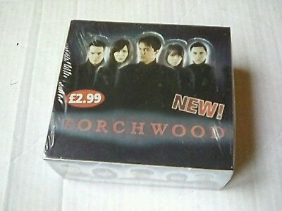 Torchwood doctor who cards box
