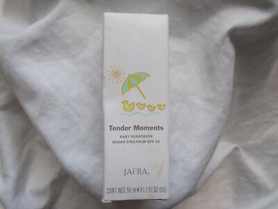 Nib Jafra Tender Moments Baby Sunscreen Broad Spectrum Spf 45 1.7 Fl. Oz. New