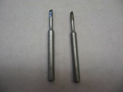 "2 - New - Hexacon HT685D Solder Iron Tip 2-3/4"" OAL 1/4"" Diameter HT 685D"