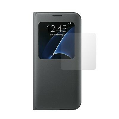 4x Screen Protector Full cover of the glass for S-View Cover Samsung Galaxy S7