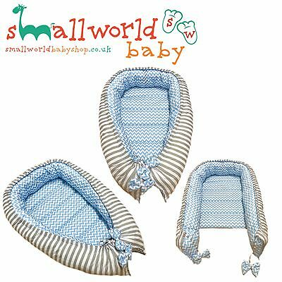 Personalised Boys Baby Nest Baby Pod Co Sleeping Cot Crib  (NEXT DAY DISPATCH)