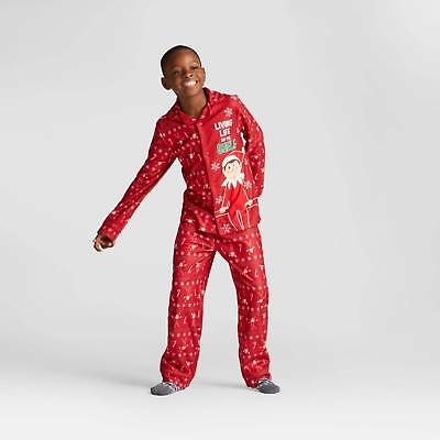 Boys' Elf on the Shelf Pajama Set - Red