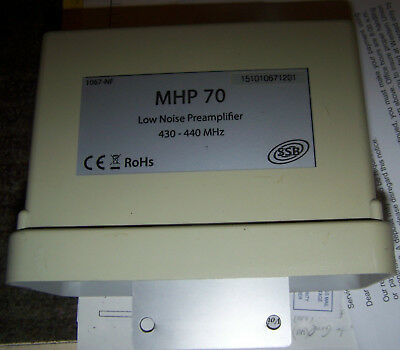 SSB Electronics MHP-70 Mast Mounted High Power 70cm Preamp