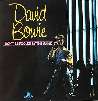 """David Bowie """"Don´t Be Fooled By The Name"""" - 1981 1st Press UK 10"""" 6-Track LP!"""