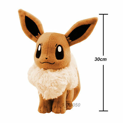 Peluche Pokemon Evoli eevee Collectible Plush Character 30cm