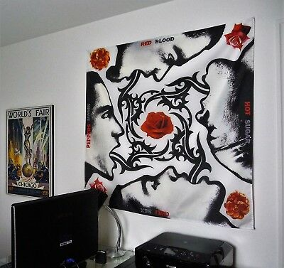 RED HOT CHILI PEPPERS Blood Sugar Sex Magik BIG 4X4 BANNER poster tapestry album