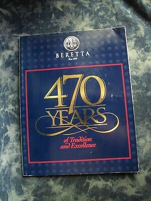 Beretta Firearms Sporting Goods Catalog, 1997 470 Years.