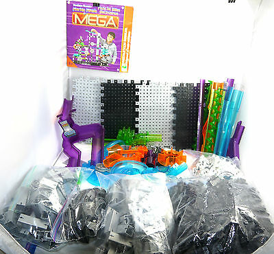 Marble Mania Techno Gears Mega Building A Marbles Run 98% Complete + Instr Book