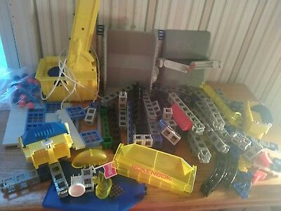 Large Lot of Bulk ROKENBOK Building Blocks Parts Accessories people