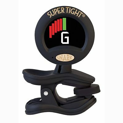 New Snark St-8 Improved Super Tight Guitar Instrument Tuner Chromatic Clip On