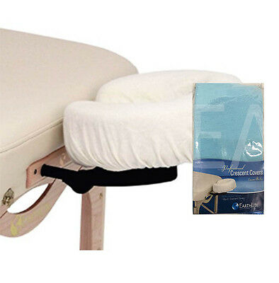 Face Rest Cover - Fitted 100% Flannel Cotton - 2 Pack - Blue
