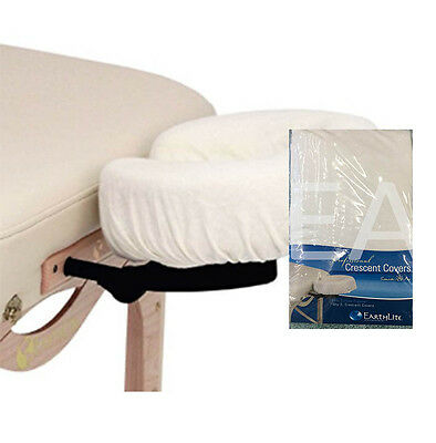 Face Rest Cover - Fitted 100% Flannel Cotton - 2 Pack - Natural