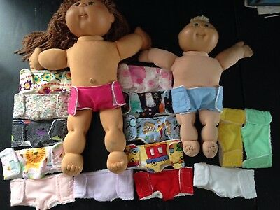 Homemade Cabbage Patch Nappy - 16 Pattern Choices