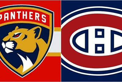 2 tickets Montreal Canadiens vs Florida Panthers October 24 WHITE Section