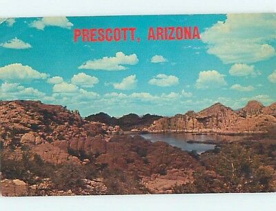Pre-1980 LAKE SCENE Prescott Arizona AZ hp6476