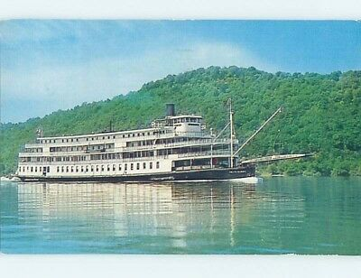 Pre-1980 postcard of NAMED IDENTIFIABLE BOAT hp8123