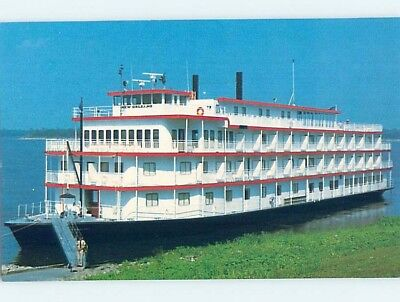 1980's postcard of NAMED IDENTIFIABLE BOAT hp8175