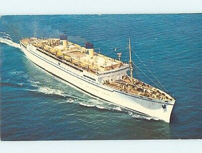 Pre-1980 postcard of NAMED IDENTIFIABLE BOAT hp8220