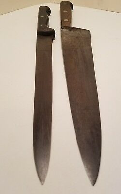 J.A. Henckels Twinworks Solingen German 108-10 209-9.5 Carbon Steel Chef Knifes