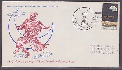 United States. 2 Covers USS New & Kawishiwi  Apollo - Saturn 13  Recovery Ship