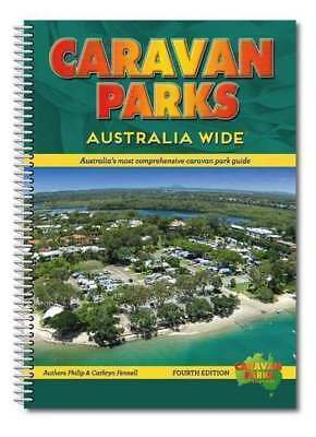 Caravan Parks Australia Wide Book 4th Ed : Spiral Bound with Hema Road Maps