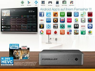 Formuler Z+ Plus 4K 30fps IPTV Android Streaming TV UHD Media Player