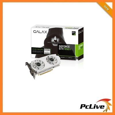 Nvidia Geforce 4GB GTX 1050 Ti Graphic Card Extreme OC 4K Video Gaming HDMI DP