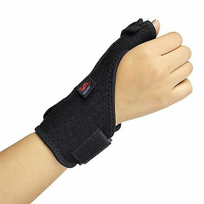 AOLIKES Wrist and Thumb Brace Support Splint for Carpal Tunnel Sprain Strain