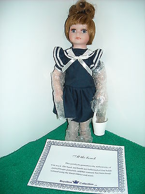 """Royalton Collection 10""""  Doll At The Beach New"""