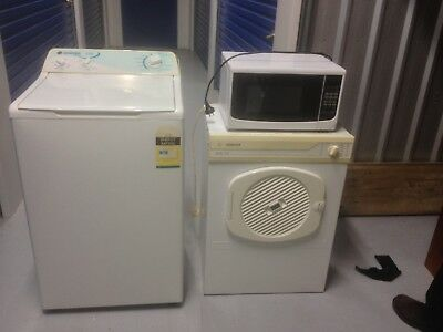 Washing Machine , Dryer and Microwave -> PICK UP ONLY