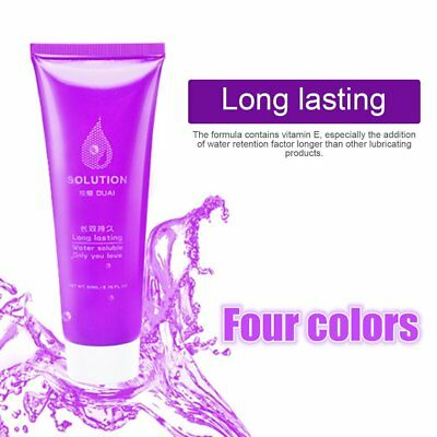 Gel Natural Personal Water Based Lubricant Masturbation Intimate Sex Toy Lube EW