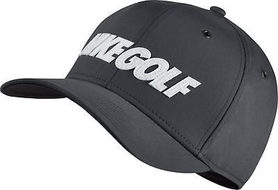 NIKE GOLF 2017 Classic 99 Washed Dri-Fit Adjustable Hat 832690 Gray Adult Cap