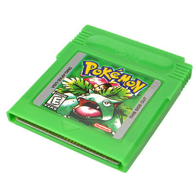 Pokemon GBC Game Card Game Boy Advance GB GBC GBA Game Console Green Gifts~